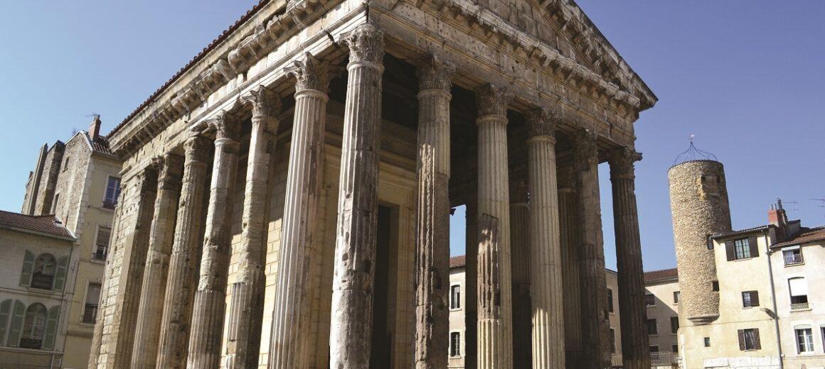Temple d'Auguste et de Livie à Vienne Isère