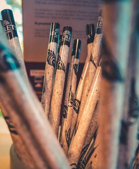 Crayons souvenirs à l'Office de tourisme de Vienne