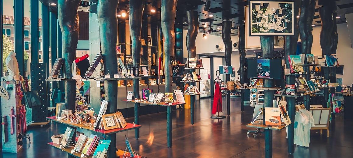 Boutique du pavillon du tourisme de Vienne Isère