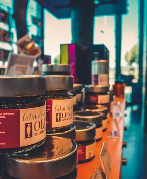 Produits gourmands au pavillon du tourisme de Vienne