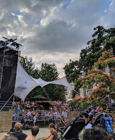 Jardin de Cybèle Jazz à Vienne