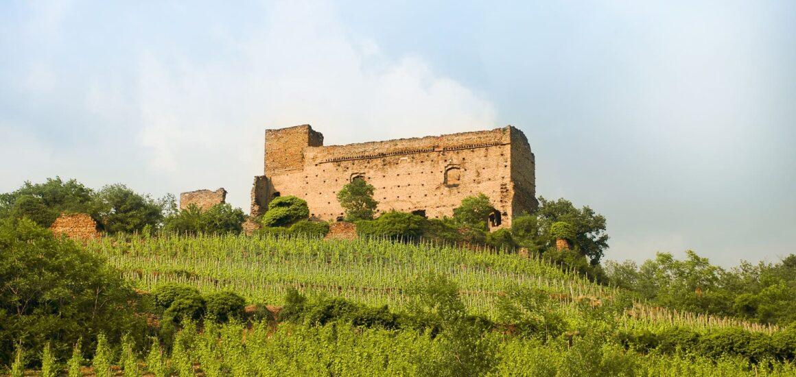 Château des archeveques à Seyssuel