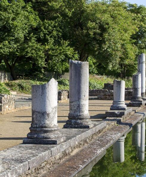 Détail au musée gallo-romain de Saint-Romain-en-Gal