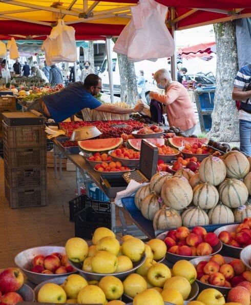 Grand marché de Vienne Isère